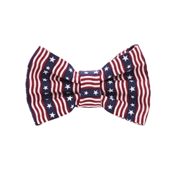 Stars & Stripes Dog Bow Tie from Unikue Kreations