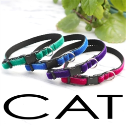 Velvet Cat Collars -- 32 Colors