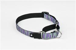 Grey Martingale Dog Collar