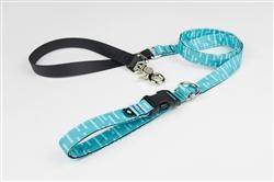 Aqua Adjustable Lead w/ Buckle