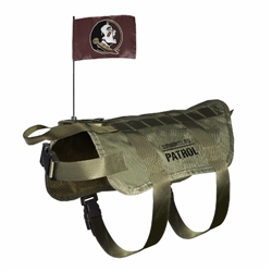 Florida State Seminoles Tactical Dog Vest