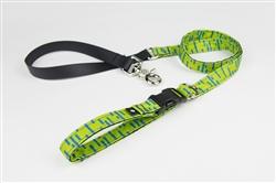 Lime Adjustable Lead w/ Buckle