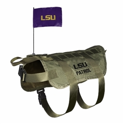 LSU Tigers Tactical Dog Vest