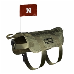 Nebraska Huskers Tactical Dog Vest