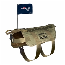 New England Patriots Tactical Dog Vest
