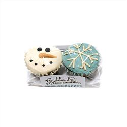 Snowy Mini Cupcakes 2-pack