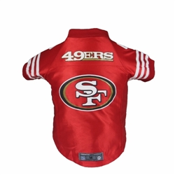 San Francisco 49ers Premium Pet Jersey