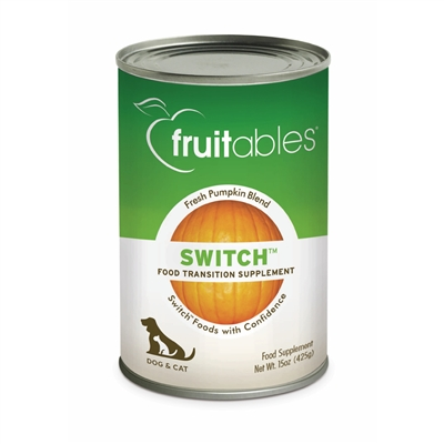 Fruitables Switch Food Transition Supplement for Dogs & Cats (12 Cans Per Case)