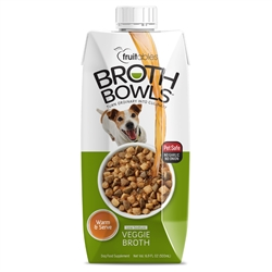 Fruitables Vegetable Broth Bowls - 16.9 oz (12 Per Case)