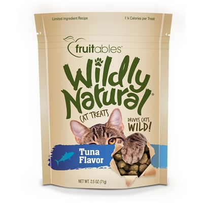 Fruitables Wildly Natural Tuna Cat Treats (12 Per Case)