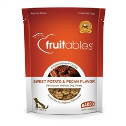 Fruitables Sweet Potato & Pecan Dog Treats - 7 oz (8 Per Case)