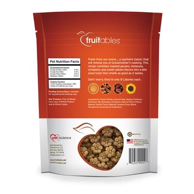 Fruitables Sweet Potato & Pecan Dog Treats - 7 oz (8 Per Case)