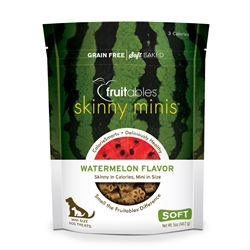Fruitables Watermelon Skinny Mini Dog Treats (12 Per Case)
