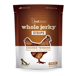 Fruitables Jerky Roast Chicken Tenders Dog Treats - 5 oz (8 Per Case)