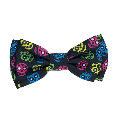 Huxley & Kent - Sugar Skull Bow Tie