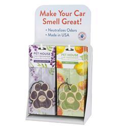 Pet House Car Freshener Counter Top Display