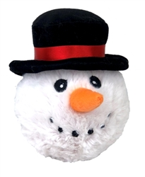 """4"""" CHR EZ SNOWMAN BALL"""