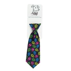 Sugar Skull Long Tie by Huxley & Kent