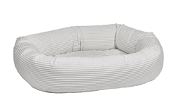 Donut Bed Marshmallow Microcord