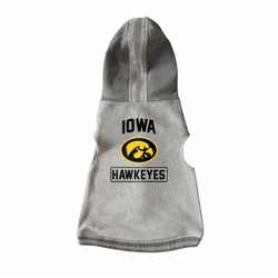 Iowa Hawkeyes Pet Hooded Crewneck