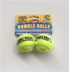 Rumble Tennis Balls 1.75 inch 2 pack