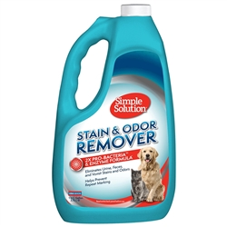Simple Solution Pet Stain and Odor Remover with Pro-Bacteria and Enzyme Formula, Made in USA