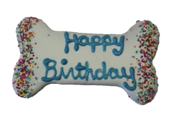 Blue Birthday Bone
