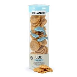 Icelandic+ Cod Fish Chips (Fish Treat) - 2.5oz tubes