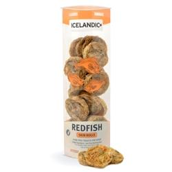 Icelandic+ Redfish Skin Rolls (Fish Treat) - 3oz tubes