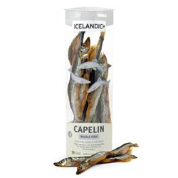 Icelandic+ Capelin Whole Fish Dog Treats - 2.5oz tubes