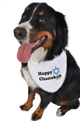 Happy Chanukah Bandana