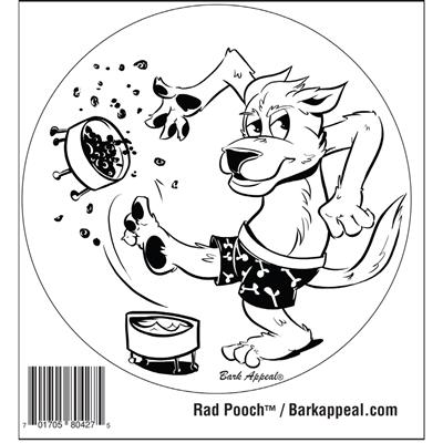 Rad Pooch™ Stickers
