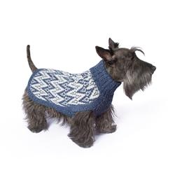 Blue Andean Peaks Sweater