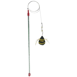 GoCat Da Bee Cat Toy 18""