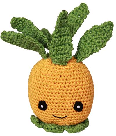 Fruit Collection- Knit Knacks - Organic Cotton Crocheted Toys