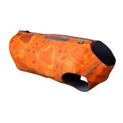Hurtta Swimmer Vest (Bug Blocker), Orange Camo