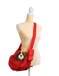 ParaPUP Convertible Sling/Clutch - Red