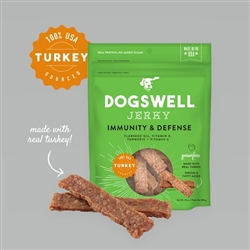 Dogswell Immune & Defense Jerky Grain-Free  Turkey  10 oz.