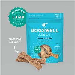 Dogswell Skin & Coat Jerky Grain-Free Lamb 10 oz.