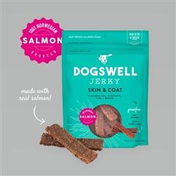 Dogswell Skin & Coat Jerky Grain-Free Salmon