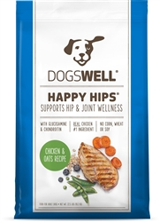 Dogswell Happy Hips Chicken Oatmeal Dog Food