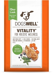 Dogswell Vitality Chicken Oatmeal Dog Food 11lbs.