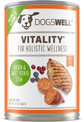 Dogswell Vitality Canned Dog Food 13 oz. (Case of 12)