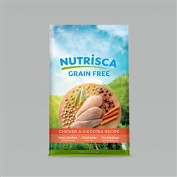Nutrisca Dog Food Chicken Chickpea Dog Food