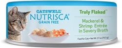 Nutrisca Cat Canned Food Flaked  2.7 oz. (Case of 24)