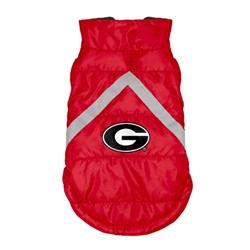 Georgia Bulldogs Pet Puffer Vest