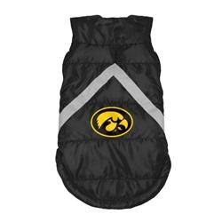 Iowa Hawkeyes Pet Puffer Vest