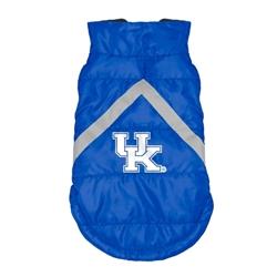 Kentucky Wildcats Pet Puffer Vest
