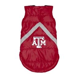 Texas A&M Pet Puffer Vest