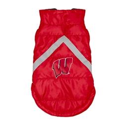 Wisconsin Badgers Pet Puffer Vest